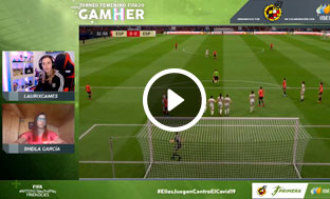 La Selección Española Femenina de Fútbol lucha en el GamHer por el título internacional