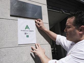 Andalucía Segura, un sello para relanzar el turismo y el comercio
