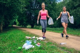 Plogging, el deporte con conciencia medioambiental