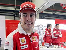 Fernando Alonso. (Foto: J. AYMÁ)