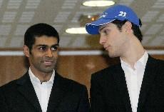 Chandhok y Senna, sobrino del malogrado campeón brasileño.
