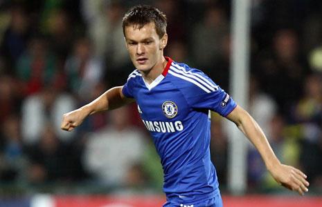 Josh McEachran, durante un partido con el Chelsea.