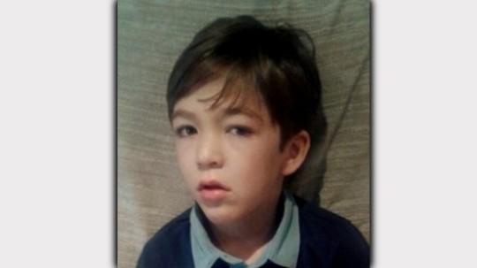 Christian, de seis años.