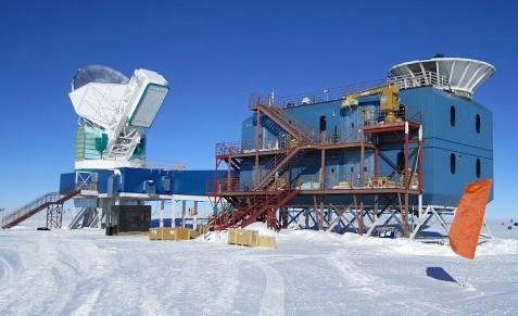 Experimento Background Imaging of Cosmic Extragalactic Polarization 2 en el Polo Sur