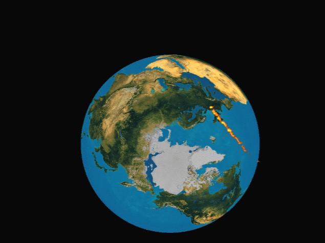 Imagen astronómica del día de 30 de mayo de 1997