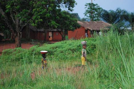 Vistas del pueblo de Djomo | Anne Connelly (MSF)