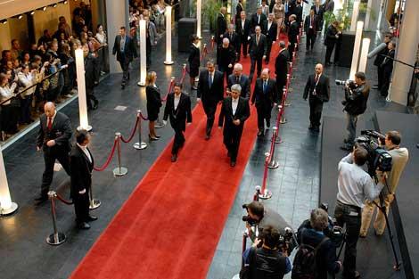 Danilo Türk, presidente de Eslovenia, en su visita al PE.| PE