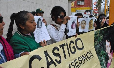 Manifestación contra la violencia y los asesinatos que desangran Ciudad Juárez. | Efe