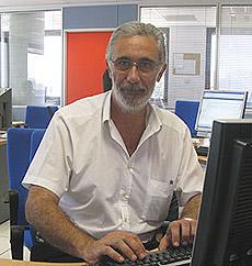 Javier Solano, en TVE