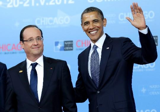 La pose fotográfica de Obama