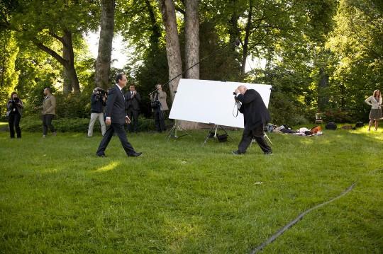 Raymond Depardon retrata a François Hollande