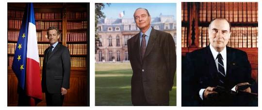 Retratos de presidentes franceses