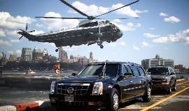 Obama en Marine One
