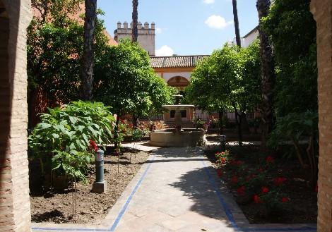 Patio de la Alcubilla o Patio del Tenis (leyendasdesevilla.blogspot.com)