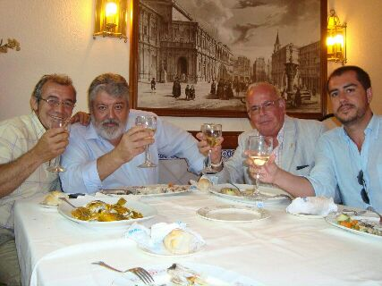 Miguel Ángel Baena (izquierda) y Rafael Carretero, en una época anterior a la denuncia.