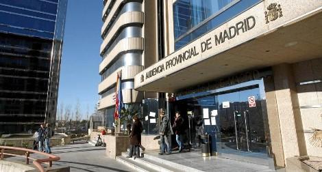 Entrada de la Audiencia Provincial (Foto: Sergio González)