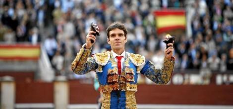 José Tomás, uno de los días que toreó en Las Ventas, hace dos años (foto: Antonio Heredia)