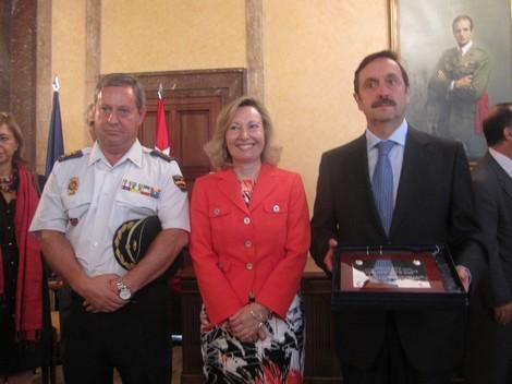 Javier Redondo, Amparo Valcarce y Carlos Rubio, este martes