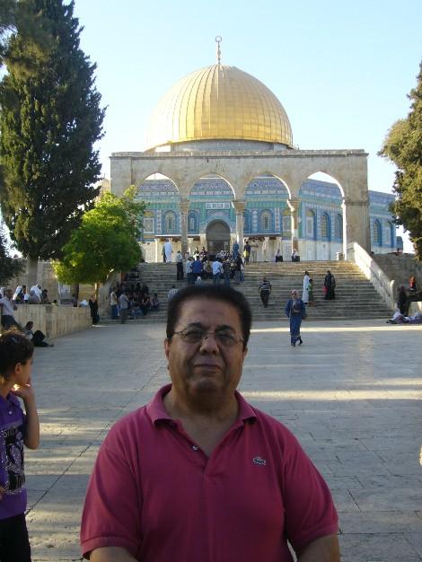 Ismail ante la C¿pula de la Roca