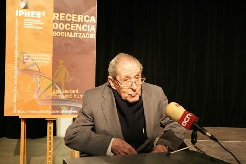 El primatòleg Jordi Sabaté i Pi