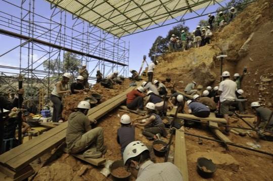 Excavaciones en Atapuerca