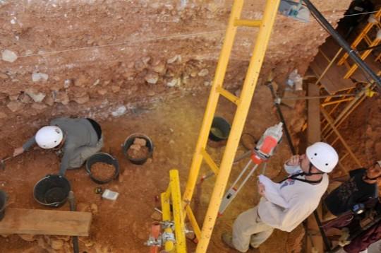 Excavaciones en Gran Dolina