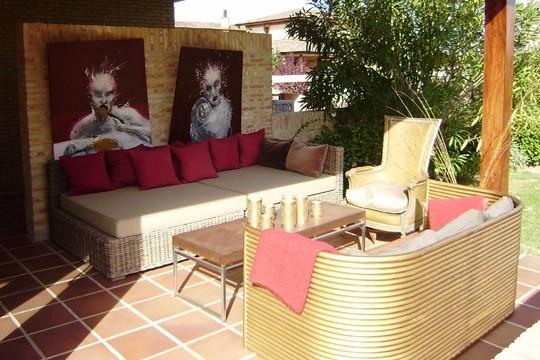Terraza De Bambú Y En Dorado Trucos De Interior Blogs