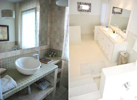 Baño para invitados, para compartir y para divertirse | Trucos de ...