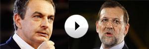 Cara a cara, Rajoy y zapatero