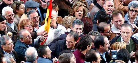Imagen del intento de agresión