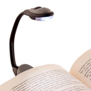 Luz de Libro para Leer con Pinza