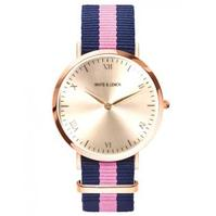 reloj_nylon_gold_white_venice