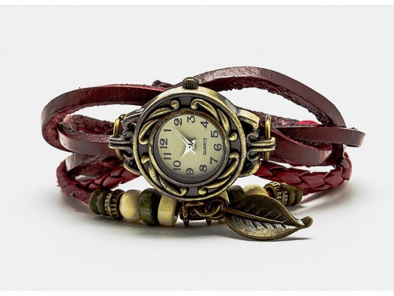 reloj_vintage_hoja_rojo