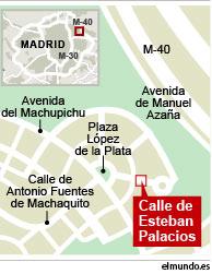 Localizador de la casa de Carmina Ordoñez