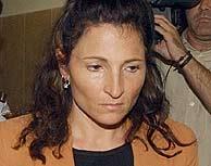 La condenada, en una de las sesiones del juicio. (EFE)