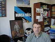 El patrón mayor de O Grove, Francisco Iglesias. (B. P. R.)