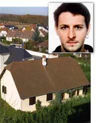 Gorka Palacios y otros tres etarras han sido detenidos cuando celebraban una reunión en esta casa cerca de Pau. (AFP)