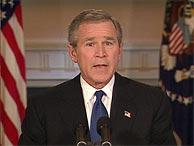 George W. Bush, en la Casa Blanca. (REUTERS)