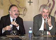 Carod-Rovira y Maragall. (EFE)
