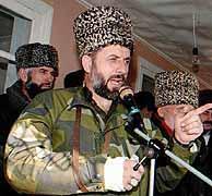 Selijman Yandarbiev, en 1997. (EPA)