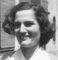Carmen Laforet, de joven.