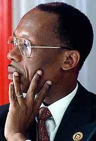 Jean-Bertrand Aristide. (AFP)