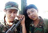 Adolescentes, miembros de las FARC. (Salud Hernández Mora)