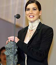 Laia Marull, ganadora del premio a la mejor actriz en la pasada edición de los Goya, es una de las candidatas. (C.Barajas)