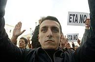Momento de la concentración en la Puerta del Sol de Madrid. (EFE)