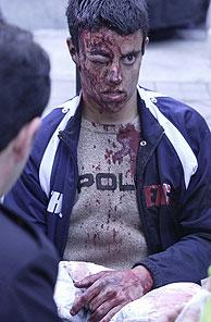 Un ex alumno del Instituto de Santa Eugenia, herido en uno de los atentados. (Ricardo Cases)