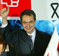 José Luis Rodríguez Zapatero. VEA MÁS IMÁGENES (REUTERS)