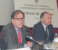 Miguel Ángel Gozalo (izda.) y Miguel Platón. (EFE)