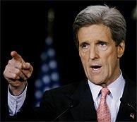 John Kerry, durante un discurso sobre la situación en Irak. (REUTERS)