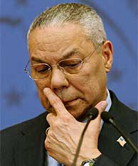 El secretario de Estado de EEUU, Colin Powell. (AP)